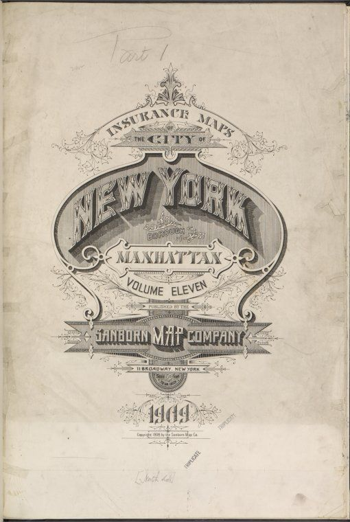 Atlas 126. Vol. 11, pt. 1, 1909.