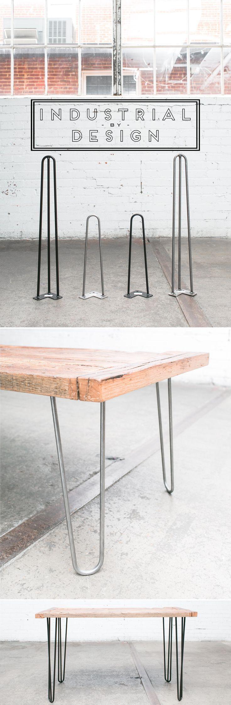 Esszimmermöbel mit lagerung haarnadel beine für diy  mitte jahrhundert modern  industrie