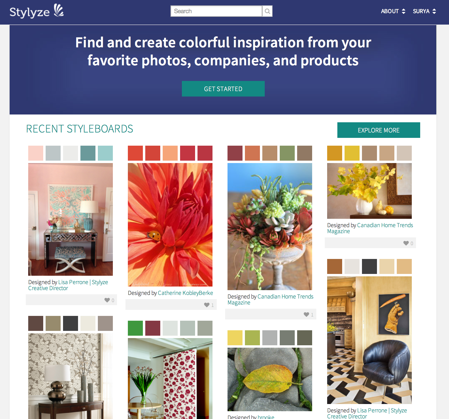 Paint colors website - Color Crazed Website Stylyze Makes It Easy To Coordinate Paint To Your Photos And