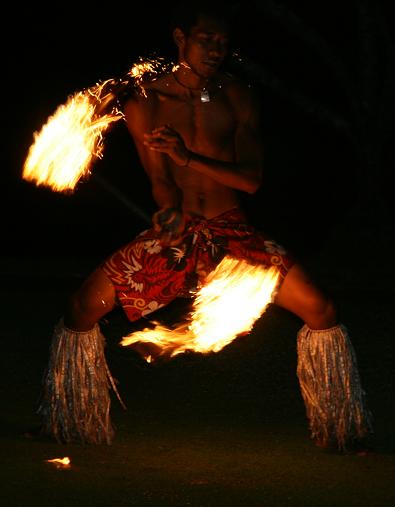 Fijian Fire Dancer Fire Dancer Polynesian Dance Hawaii Fire