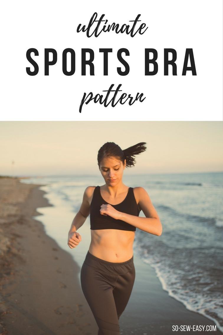 Freebook (nähen) Sport BH - Bustier für Damen nähen | Freebook nähen ...