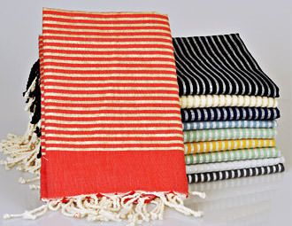 I pinned this from the Turkish Fouta Towels - For the Spa, Picnics & Sunsets on the Beach event at Joss and Main!