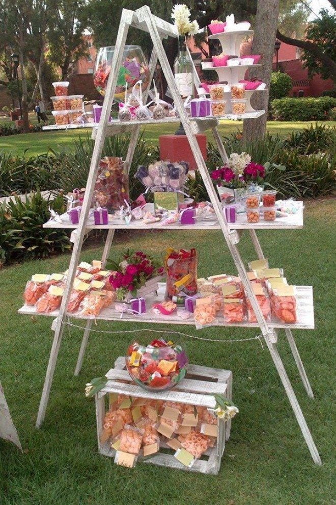Photo of A highlight not only for weddings: the Candy Bar