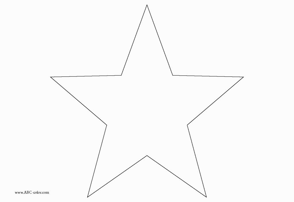 Star Shape Coloring Page Coloring Pages Pinterest Shapes and Star