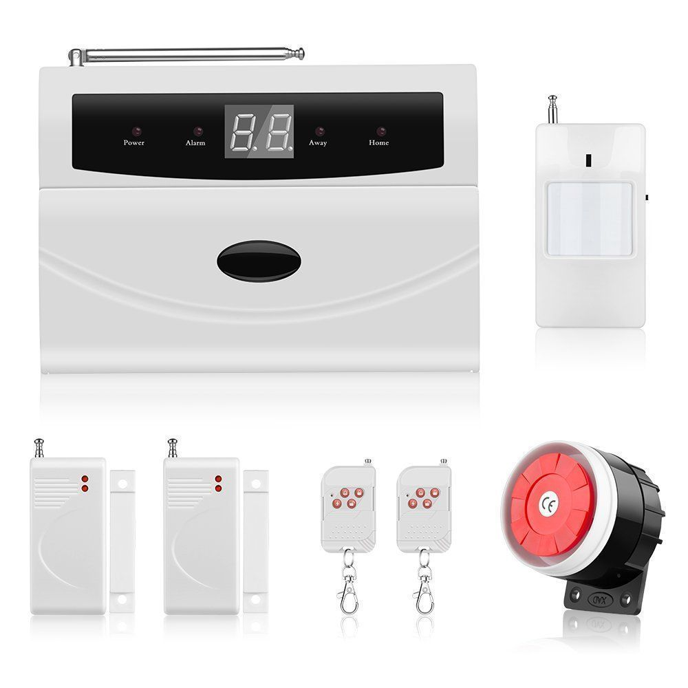 Home Alarm Security System, Thustar Wireless Home/House Business ...