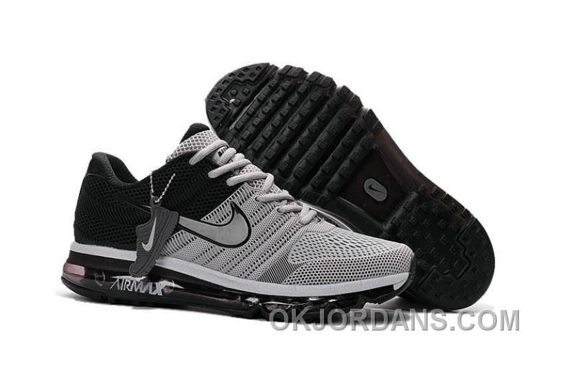 Authentic Nike Air Max 2017 KPU Grey Black For Sale PaWHDet