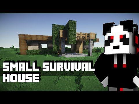 Minecraft Small Modern Survival House Tutorial Minecraft