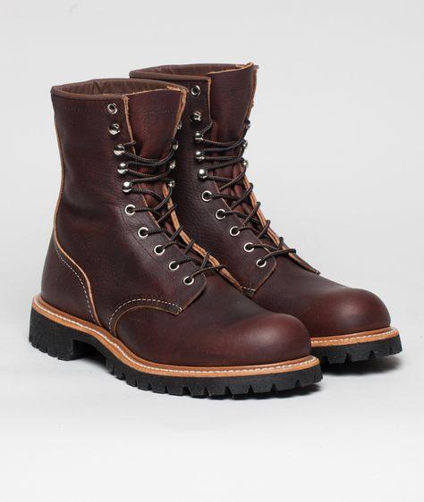 6e8e736ce36 Red Wing 4585 Logger | brown shoes | ブーツ と 靴