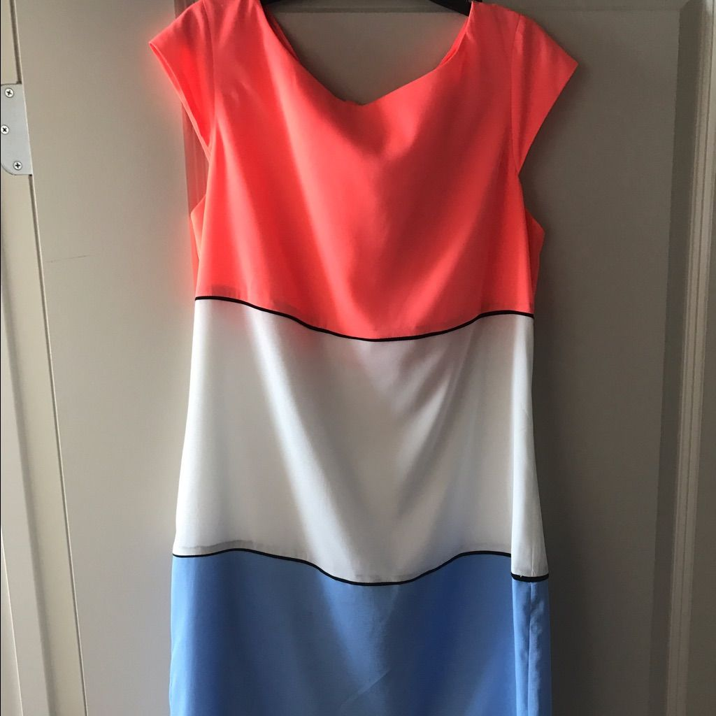 Jessica Simpson Color Block Dress