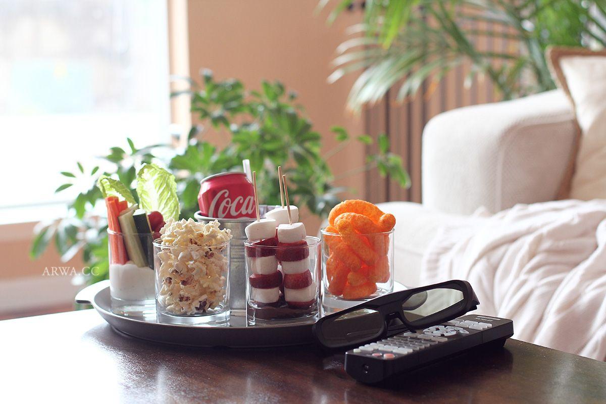 السينما المنزلية و أفكار لضيافة سينمائية مدونة أروى Food Afternoon Tea Different Recipes