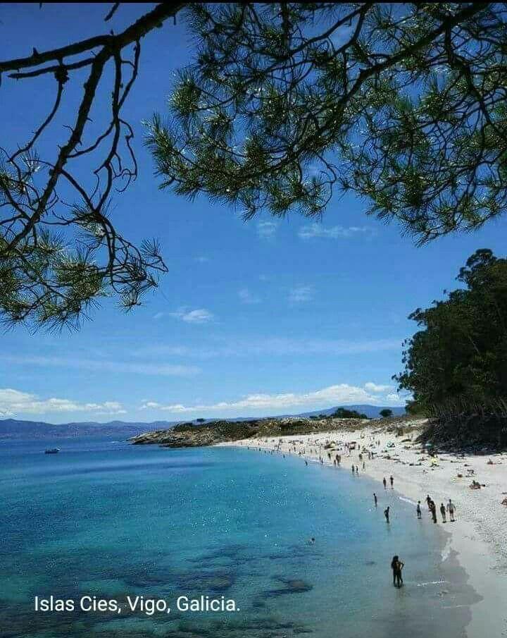 Islas cies, Vivo, Galicia, España