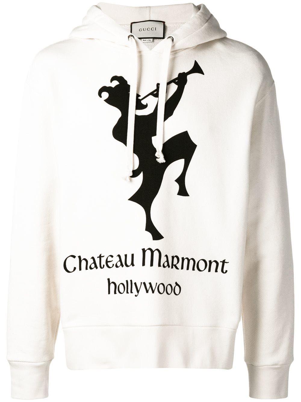 7cfa3fb13 GUCCI GUCCI - CHATEAU MARMONT FLORAL HOODY - MENS - WHITE. #gucci #cloth
