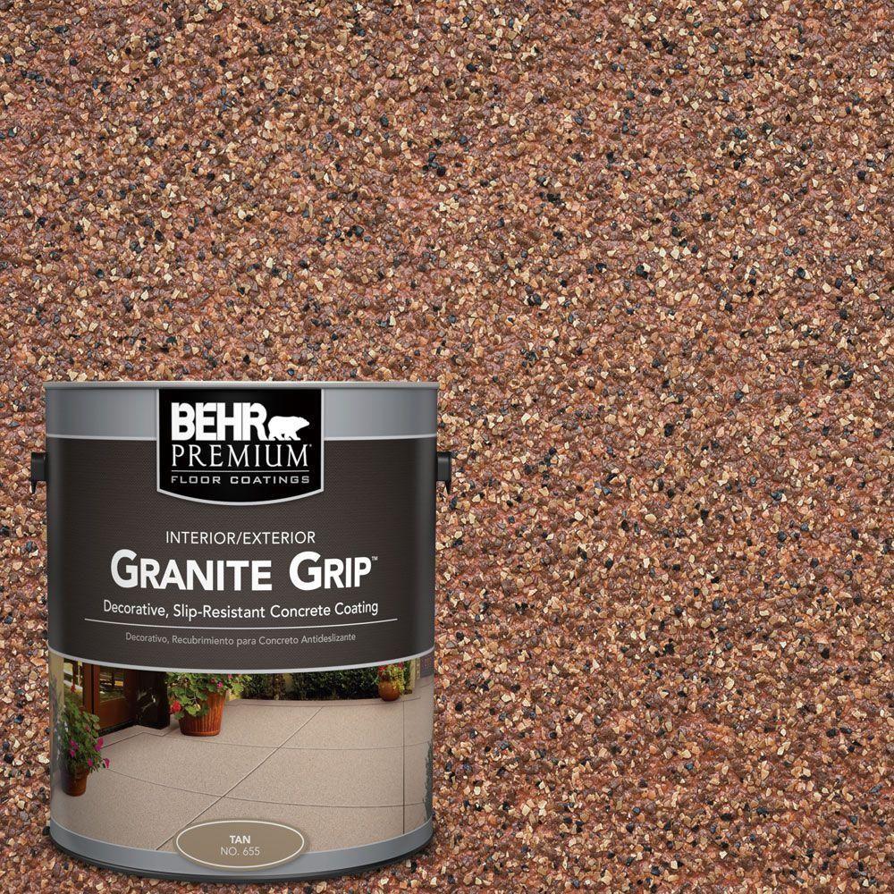 BEHR Premium 1 Gal. #GG 09 Sunset Ridge Decorative Concrete Floor Coating 65501    The Home Depot