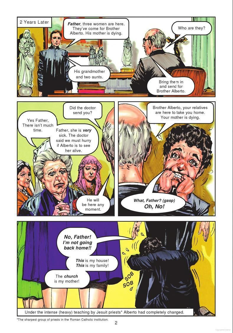 page 2 Holy ghost, Catholic priest, First love