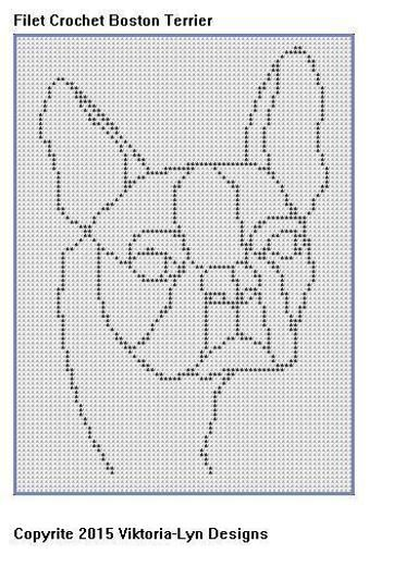 Filet Crochet Chart Horse With Flowers Horses Crochet Chart And