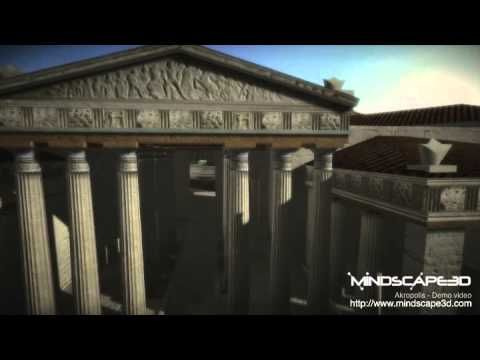 Mindscape3D Akropolis 3D Flyby