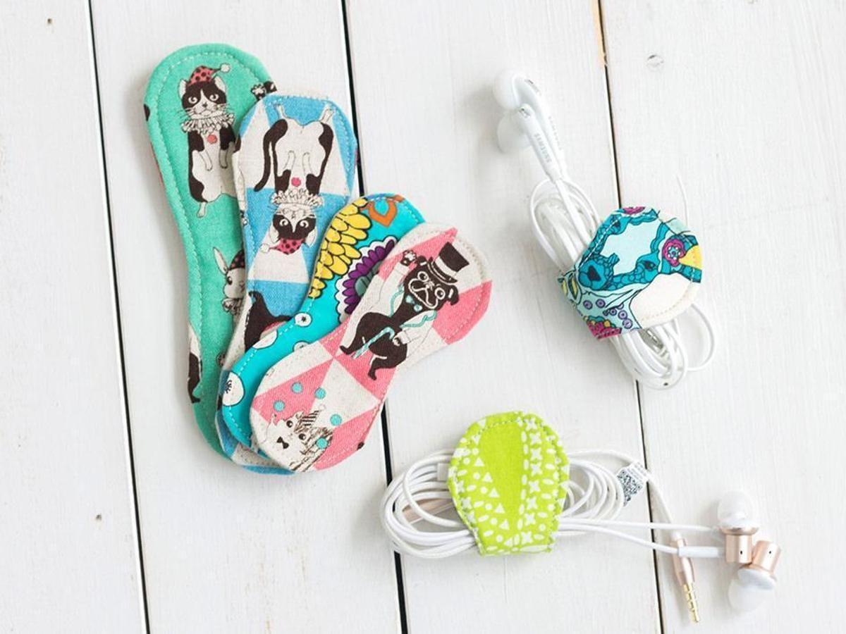 FREE #1146 Rosanna Headphone Wrapper PDF | Craftsy | Craft Ideas ...