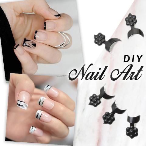 Glue-On French Nails Kit
