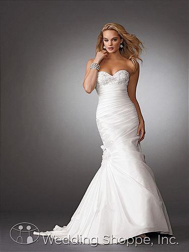 Jordan Bridal Gown M267 | Wedding Bliss.. | Pinterest | Bridal gowns ...