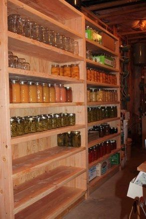 Canning Shelves By Rkober Lumberjocks Com