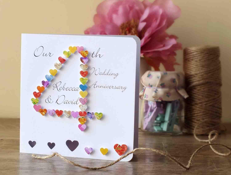 4th wedding anniversary gifts anniversaries pinterest wedding