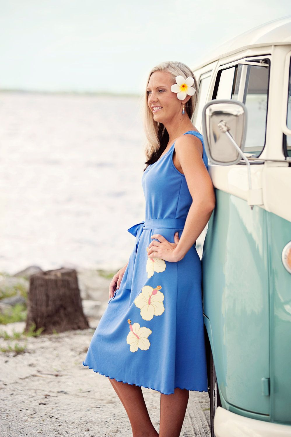 Beach wedding periwinkle bridesmaids dress by ishkabibblesdesigns beach wedding periwinkle bridesmaids dress by ishkabibblesdesigns ombrellifo Images