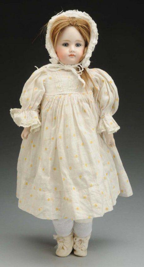 Pouty Kestner Child Doll. : Lot 615