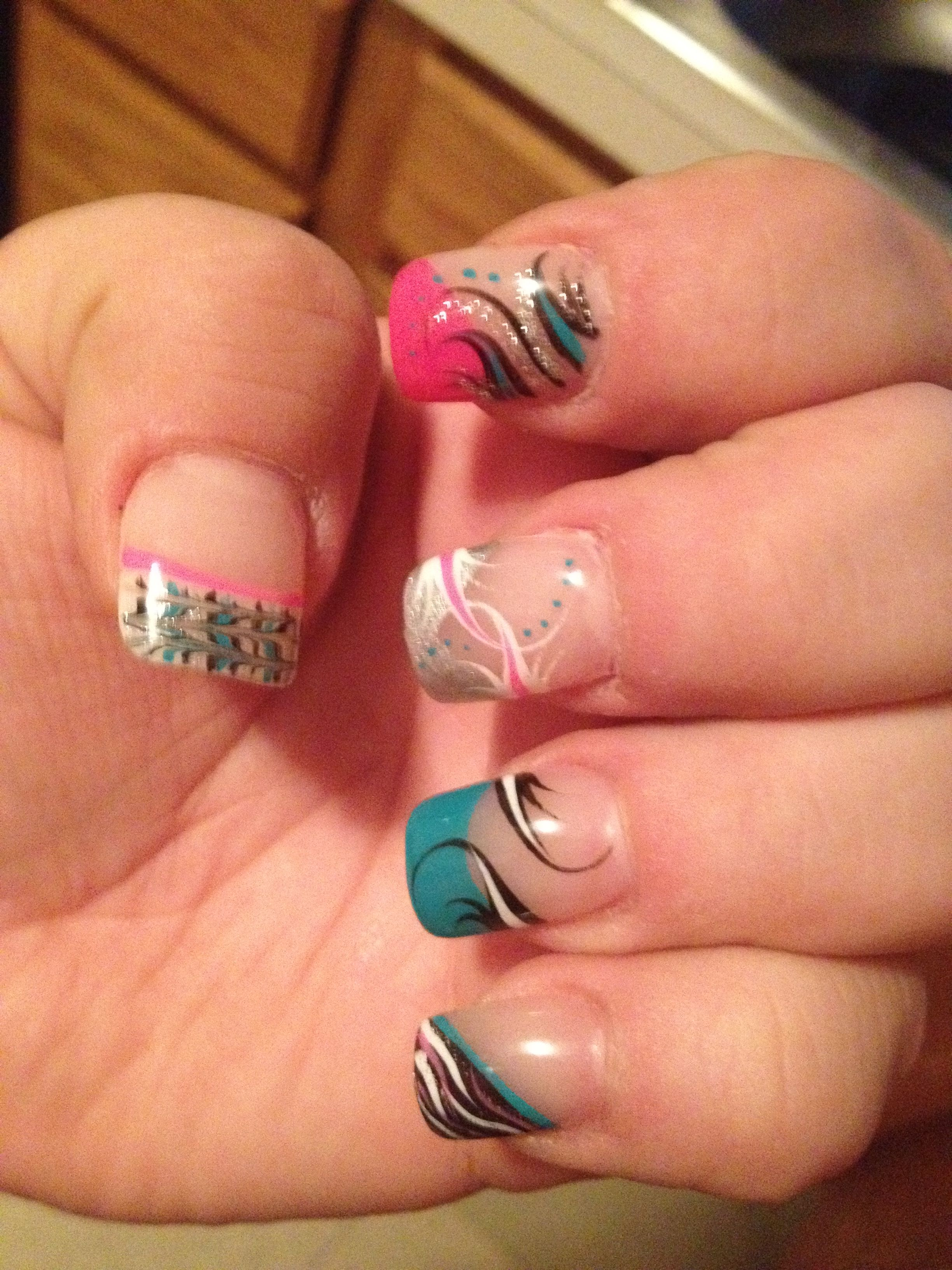 Crazy nails beauty pinterest crazy nails nail nail and diva nails - Diva nails and beauty ...