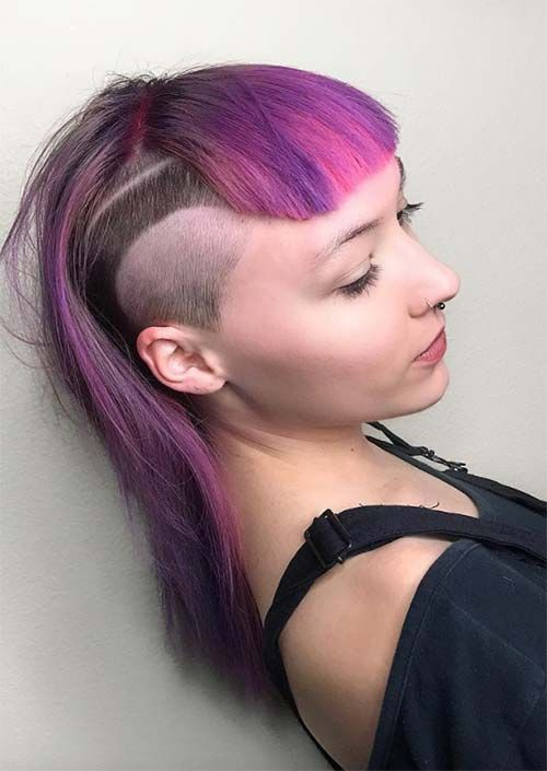 51 Long Undercut Hairstyles For Women Amp A Diy Way To
