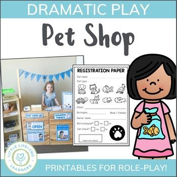 Pet Shop Dramatic Play (With images) Dramatic play, Pet