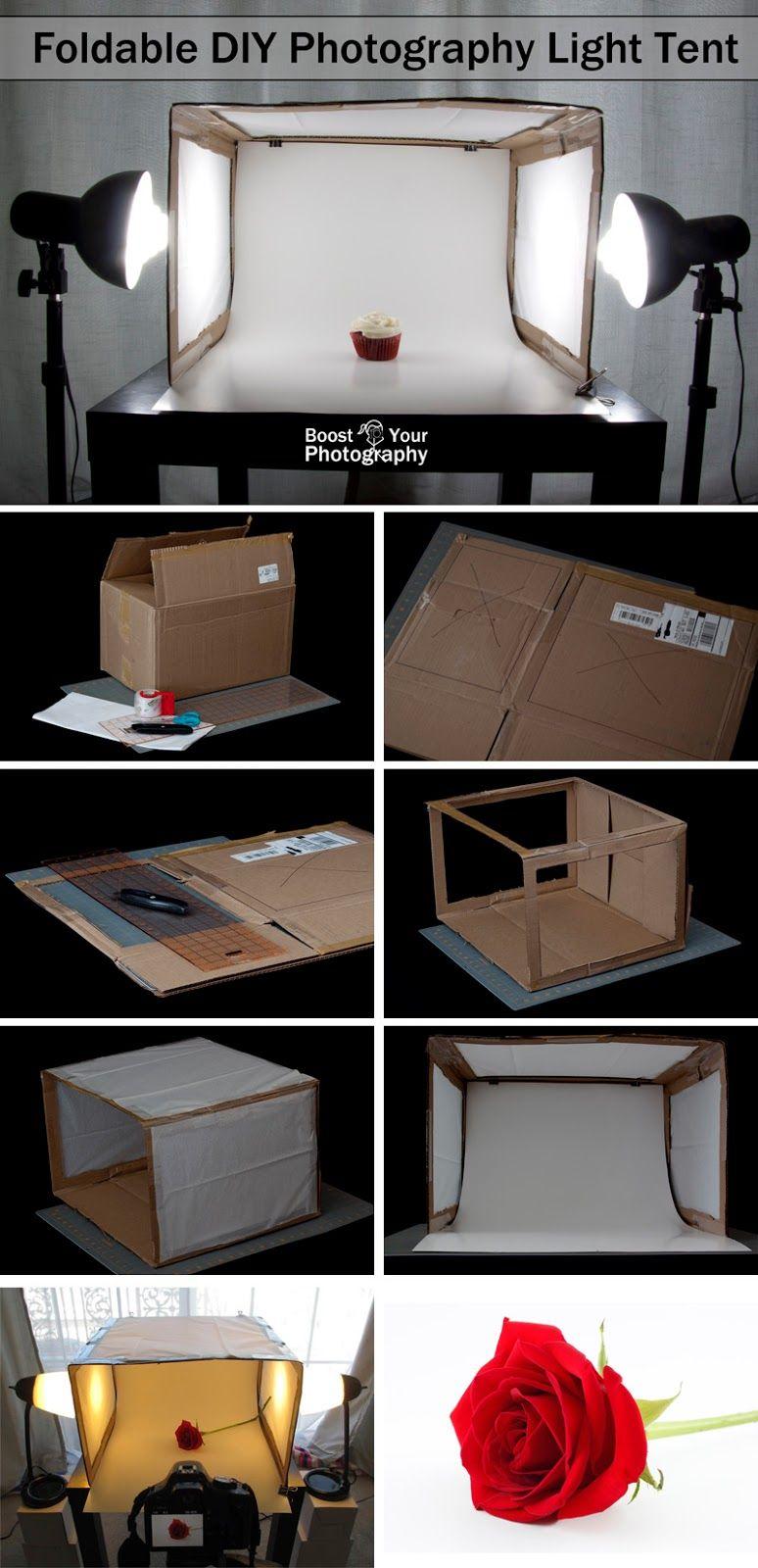 Foldable Diy Photography Light Tent Fotografie Fotografie Hacks Und Licht Fotografie