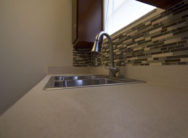 Kitchen Backsplash - After