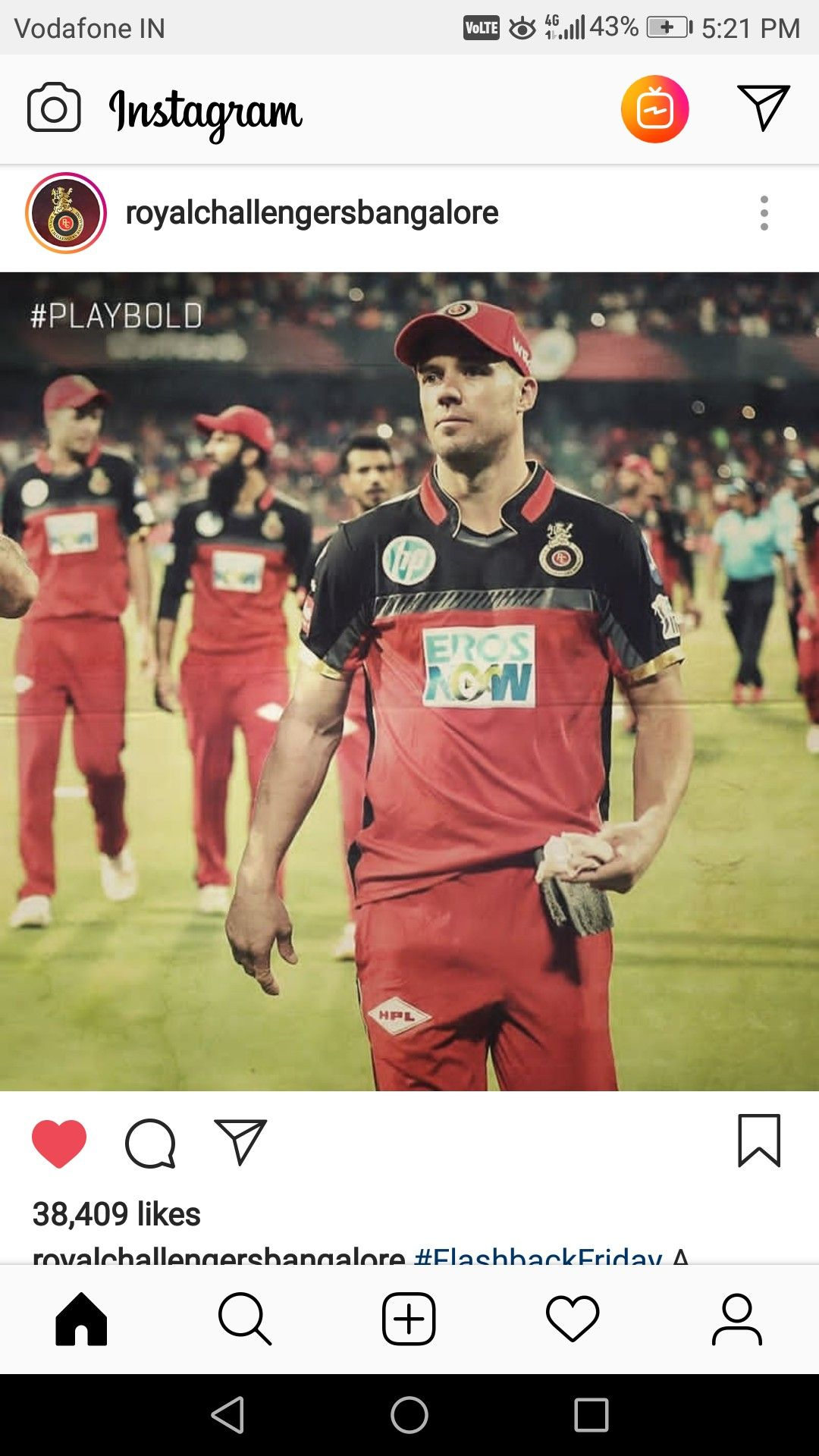 Pin By Tarun Sharma On Rcbian 4ever Ab De Villiers Royal Challengers Bangalore Abs