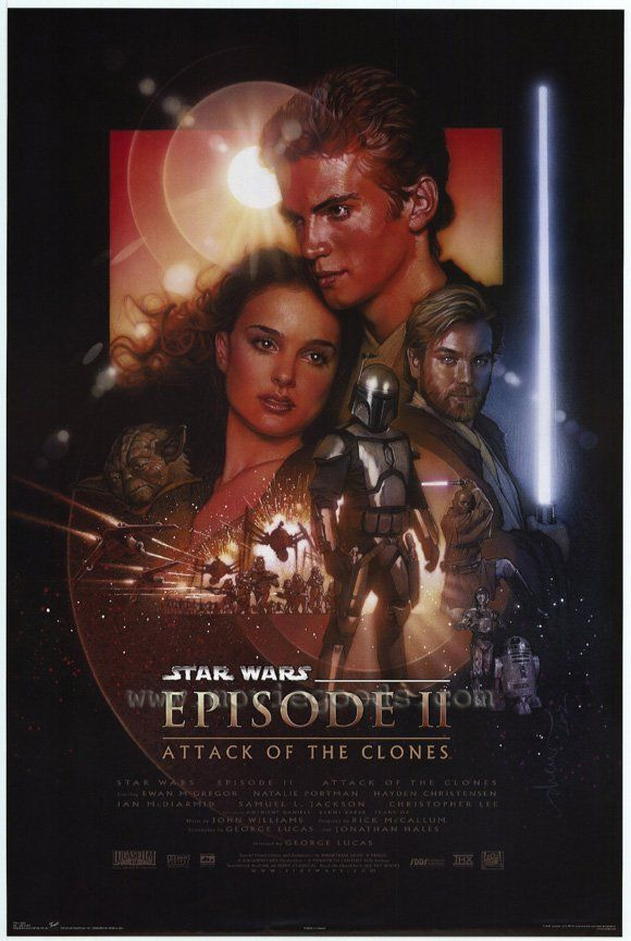 Star Wars: Episode II-Attack of the Clones movie posters at MovieGoods.com
