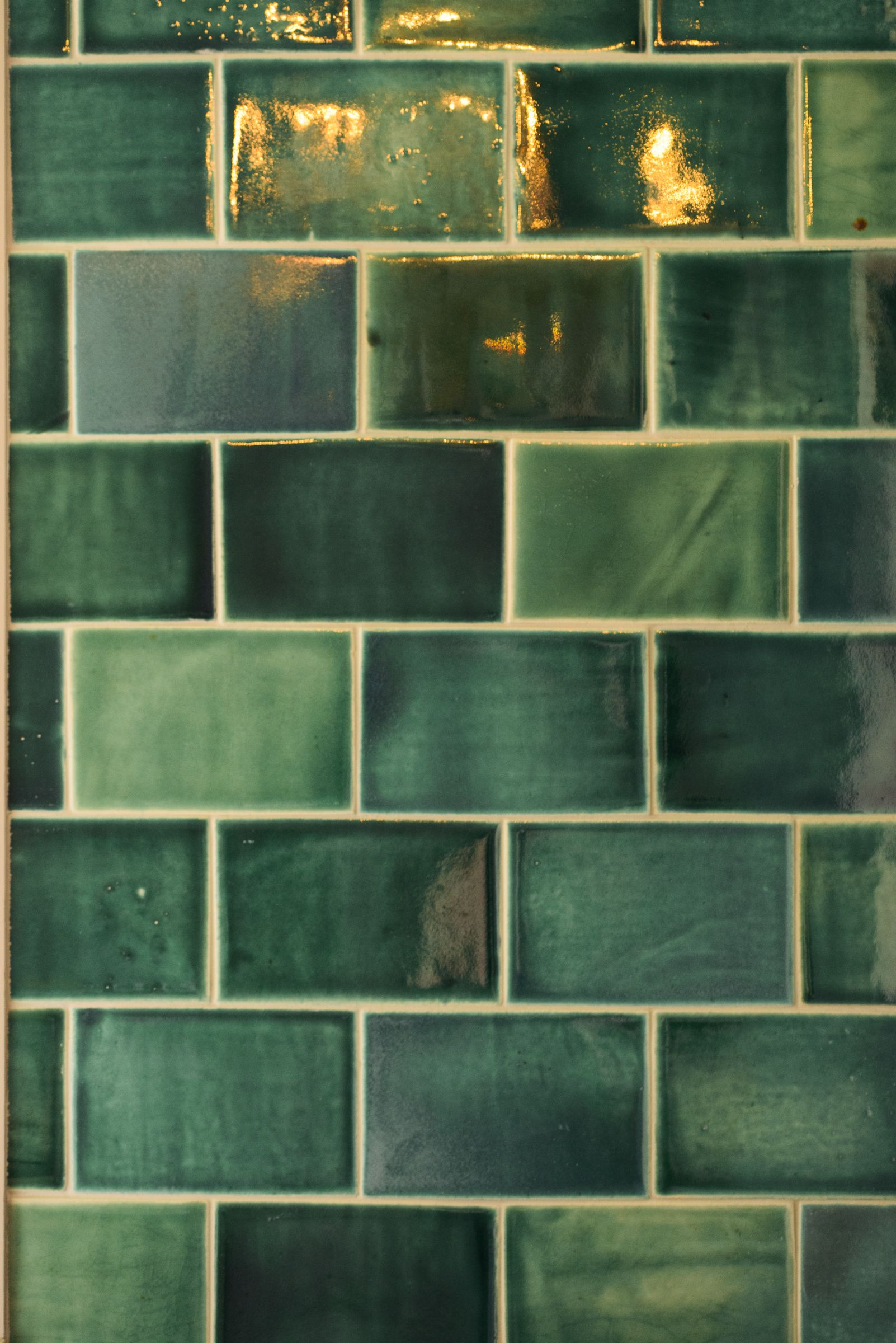 We Absolutely Love The Devol Emerald Green London Tiles On Show At Our St John S Square Showroom In Clerkenwell