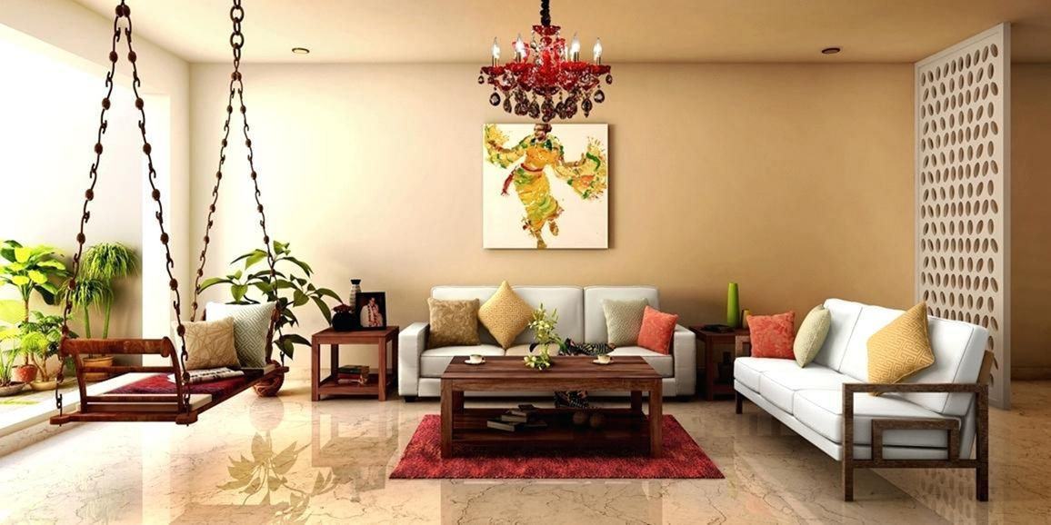 Baithak Living Room 11 | Indian living room design, Living