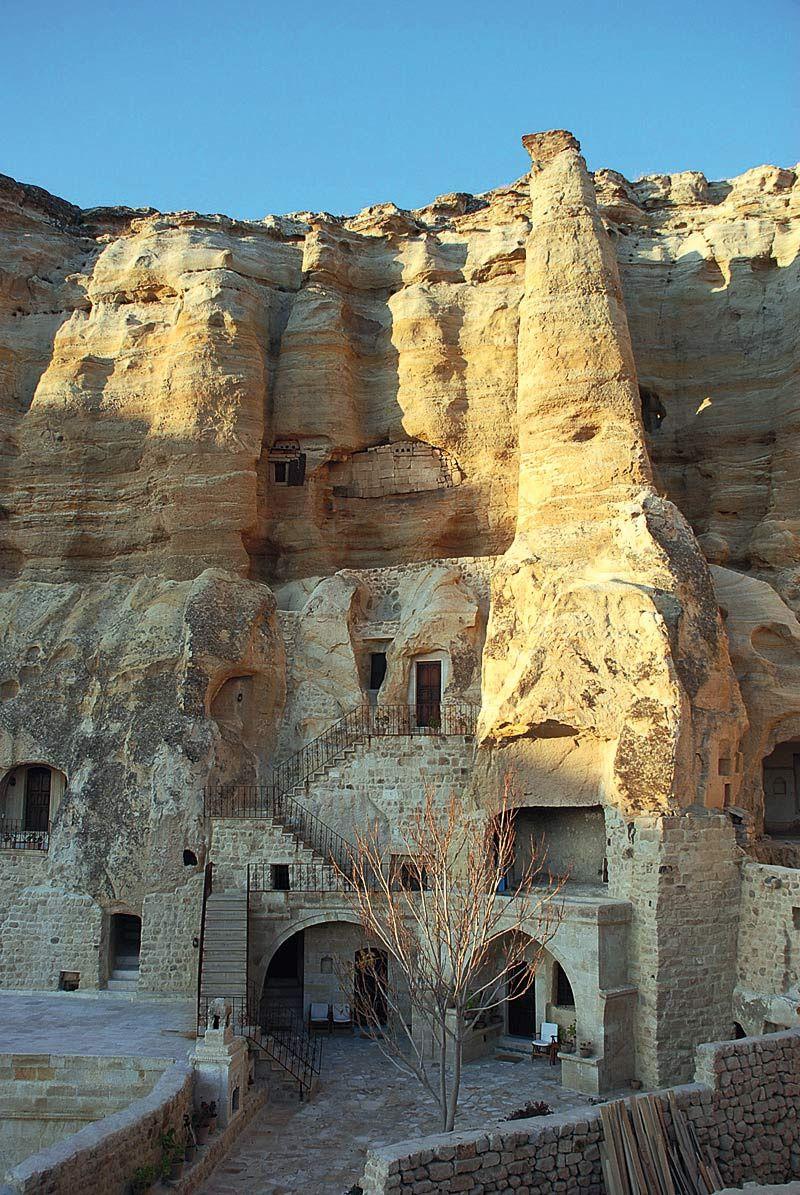 Yunak Evleri (Ürgüp, Capadocia, Turquía)