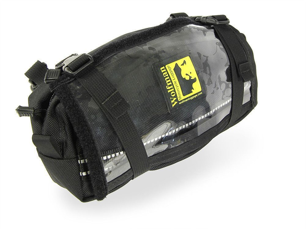 The Enduro CarryAll '12 fits on the number plate, over