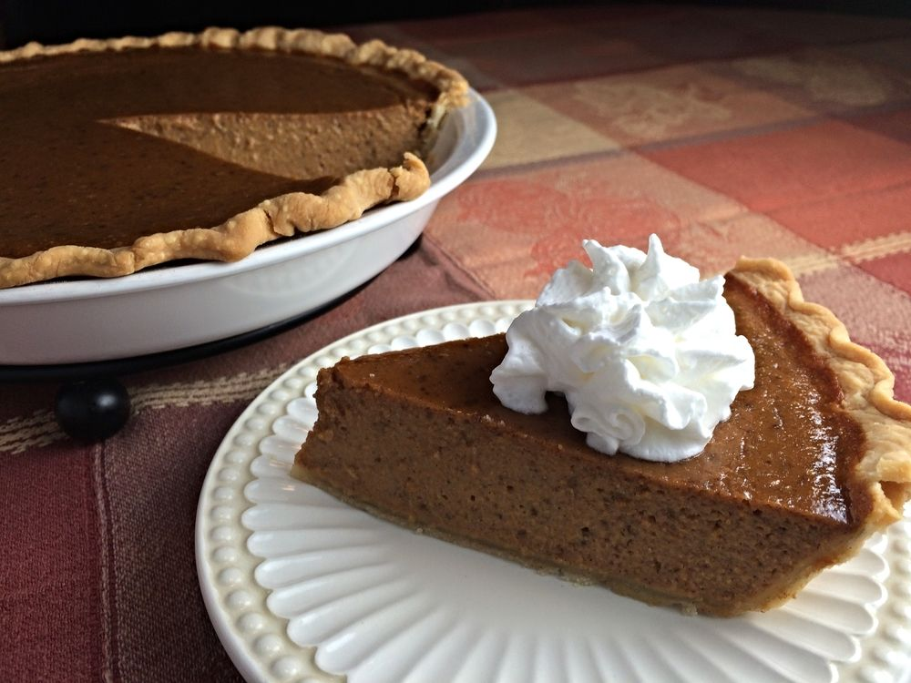 The Perfect Pumpkin Pie with a secret ingredient that takes the flavor over  the top.