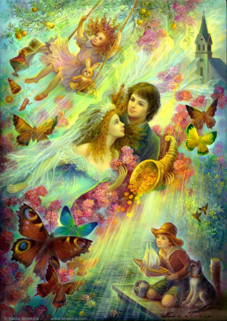 Happy together by Fantasy-fairy-angel on @DeviantArt | MUMS FAIRIES ...