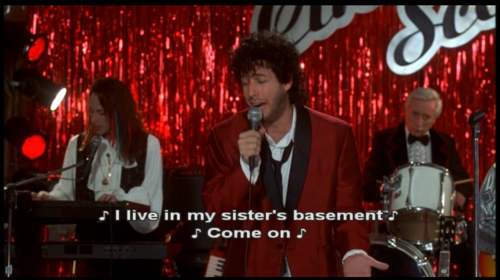 I Know All Of The Words To This Song Bahaha The Wedding Singer Favorite Movies Movie Tv