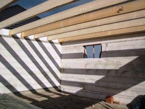 Garage Dach Garage dach, Flachdach, Doppelgarage