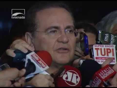 Renan: líderes e Mesa Diretora decidirão prazo para manifestação sobre p...
