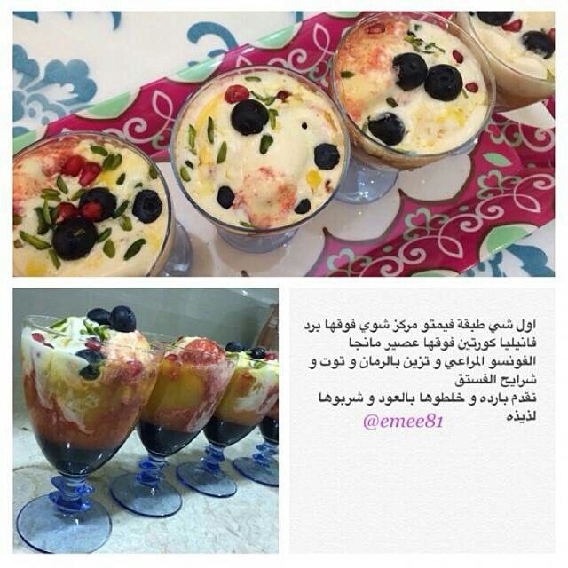 Pin By Molmol680 On وصفات حلى Food Breakfast Desserts