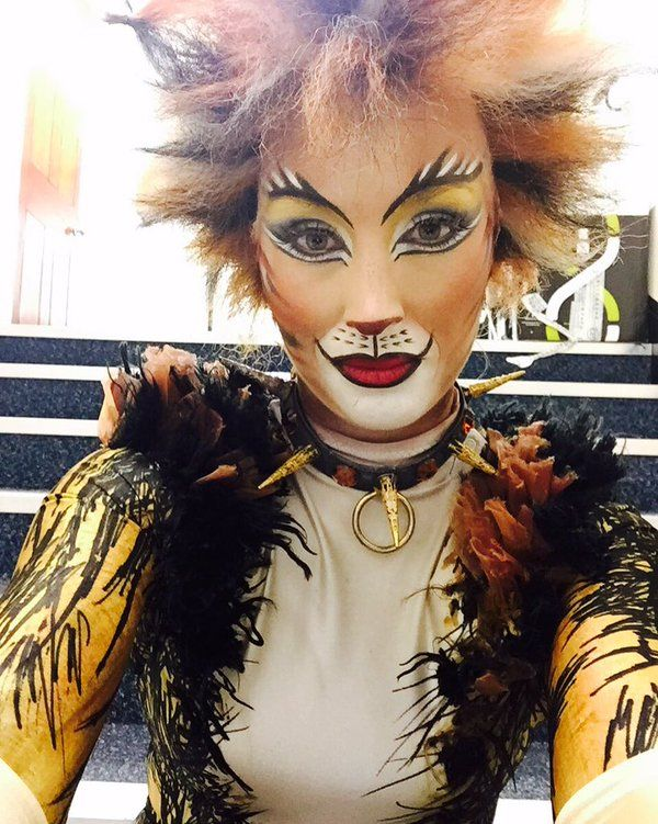Anna Woodside Cats the musical costume, Jellicle cats