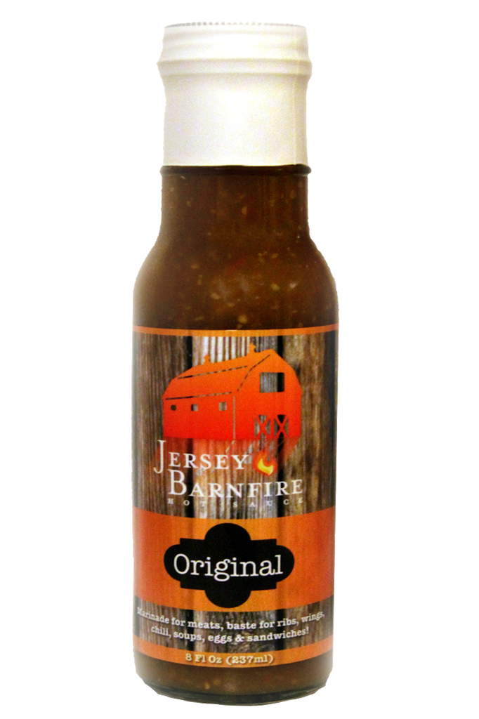 Jersey Barnfire Original Hot Sauce  Only $7.49  http://thehotsauceclub.com/collections/boutique-hot-sauce/products/jersey-barnfire-original-hot-sauce  #BoutiqueHotSauce #HotSauces #BestHotSauce #TheHotSauceClub