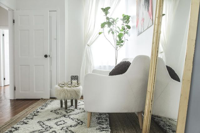 andchristina | adventures in home renovation, diy projects, and interior decor: BEFORE + AFTER: My Modern Dressing Room