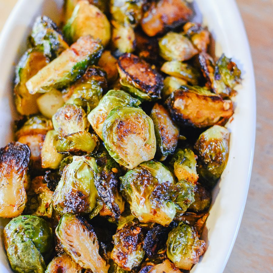 Honey Sriracha Brussels Sprouts Recipe Sprout Recipes