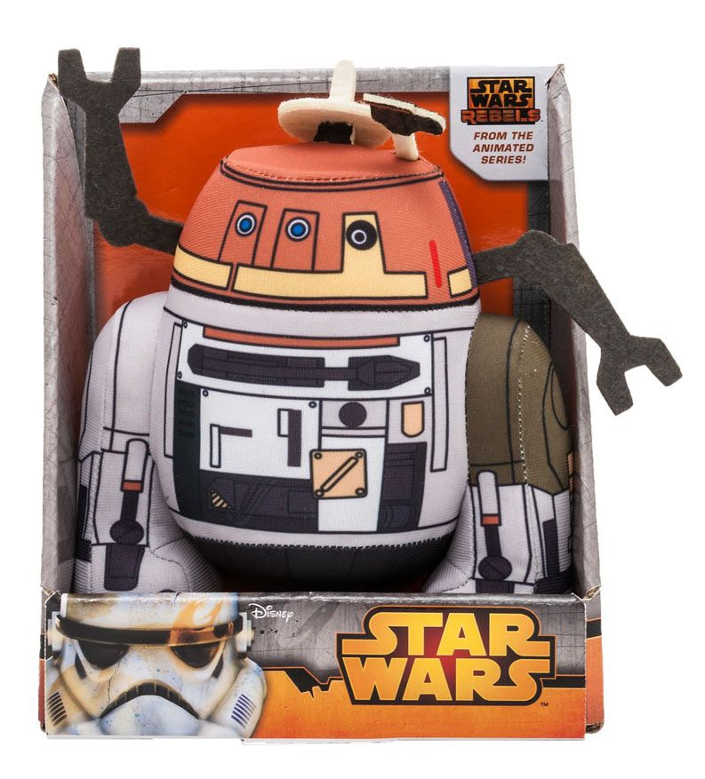Comic Images Star Wars Rebels Chopper Plush Backpack