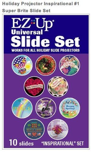 Holiday Projector Replacement Slide Pack - Inspirational #1 - http://www.specialdaysgift.com/holiday-projector-replacement-slide-pack-inspirational-1/